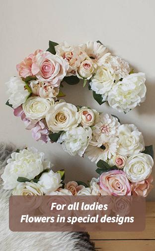 letters flower