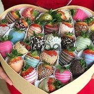 Dadlı şokoladlı çiyələklər - Şokoladlı Çiyələklə...