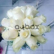 Feelings with white flowers - Wedding bouquet