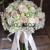 True white - Wedding bouquet