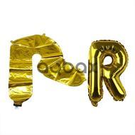 Helium şar R hərfi