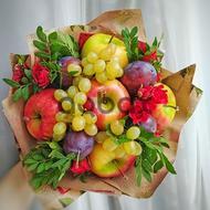 Ləzzətli meyvələr - Meyvə buketi