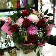 Чувства любви - Букет цветов...