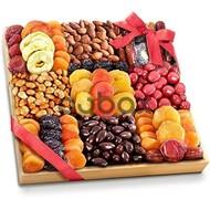 Sağlam və quru meyvələr, şokoladlar