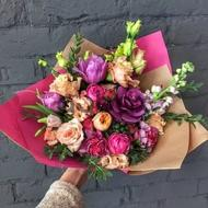 Serenity and Bliss - Flower Bouquet
