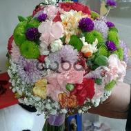 Colorful love desire - Wedding bouquet