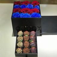 Sevgi şirinliyi - Şokoladlı Çiyələklər